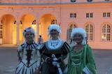 3 Grazien Schloss Neues Palais Besucherbetreuung Sans souci nachts Park Sanssouci XV Potsdamer Schloessernacht Potsdam
