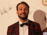 Alexander Klaus Stecher Gesicht face Kopf Promi Jose Carreras Gala Hotel Estrell Berlin SAT.1GOLD Berichterstatter