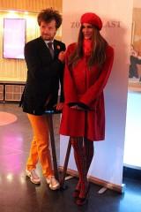 Alexandra Kamp, Michael von Hassel Eröffnung Kino ZOO Palast Berlin Bikini Bayerische Hausbau