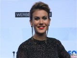 Alma wolke Hegenbarth Gesicht face Kopf Produzentenfest Produzentenallianz Regen Kongresshalle Hutschachtel WestBerlin Berichterstatter