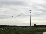 Anflug Rosinenbomber C47 DC3 Berlin Gatow Ueberflug Luftbruecke 70 Jahre Berichterstatter TrendJam