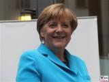 Angela Merkel Gesicht lachen Kanzlerin Kultursommernacht Vertretung des Landes Sachsen Anhalt beim Bund Berlin