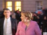 Angela Merkel Gesicht links face Kopf Kanzlerin Promi Museum Barberini Potsdam Berichterstatter