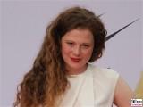 Anja Antonivich Gesicht face Kopf Laecheln ANGRY BIRDS - DER FILM Deutschland Premiere Kinostart Sony Center Berlin Mitte Potsdamer Platz AngryBirdsFilm SonyPictures