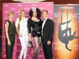 Anke Politz Gast Sheila Wolf Hendrik Frobel Chamaelion Premiere Beyond Haeckesche Hoefe Berlin