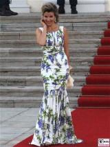 Ann Sophie Mutter Kleid Promi Queen Besuch Schloss Bellevue Staatsbankett Berlin