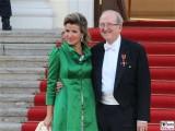 Ann Sophie Mutter, Lambert Orkis Promi Queen Besuch Schloss Bellevue Berlin 2015