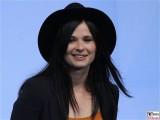 Anna Fischer Gesicht face Kopf Produzentenfest Produzentenallianz Regen Kongresshalle Hutschachtel WestBerlin Berichterstatter