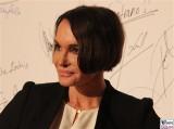 Anouschka Renzi Gesicht face Kopf Promi Jose Carreras Gala Hotel Estrell Berlin SAT.1GOLD Berichterstatter