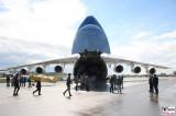 Antonov AN 225 offen ILA Luft und Raumfahrt Ausstellung Berlin Schoenefeld airport Berichterstattung