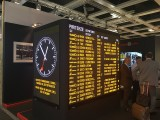 Anzeige Bildschirm System InnoTrans Exponat Messe Berlin Berichterstattung Trendjam