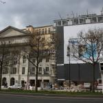 Apple Store Berlin Kurfuerstendamm nr 26 gesamtansicht werbung