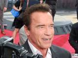 Arnold Schwarzenegger Gesicht Promi face Terminator Genisys Arnold Schwarzenegger Premiere Sony Center Berlin