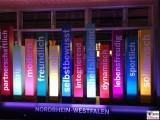 Aufsteller Landesvertretung Sommerfest Nordrhein-Westfalen beim Bund Berlin Hiroshimastrasse Berichterstatter