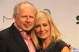 Axel Milberg Judith Milberg 6. Mira Award Berlin 2015 SKY Pay TV