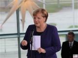 BK A. Merkel Ansprache beim Empfang Bundeskanzleramt Skylobby Berlin Berichterstattung Magazin TrendJam