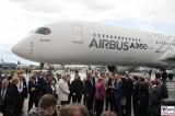 BK Angela Merkel AIRBUS A350 Rundgang Eroeffnung ILA Luft und Raumfahrt Ausstellung Berlin Schoenefeld airport Berichterstattung