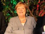BK Angela Merkel Gesicht Promi NRW Bundeskanzlerin beim Nordrhein-Westfalen Sommerfest 2019 Berlin Botschaft Berichterstattung Trendjam