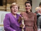 BK Angela Merkel, Koenigin Rania Al Abdullah Goldene Victoria 2018 Preis VDZ Publishers Night 18 Gala der Zeitschriften Verleger Berichterstattung TrendJam