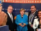 BK Angela Merkel Kultursommernacht Reiner Haseloff Vertretung des Landes Sachsen Anhalt beim Bund Berlin