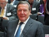 BK Gerhard Schroeder Gesicht face Kopf Promi Ludwig-Ehrhard-Preis Wirtschaftspublizistik Deutsche Telekom Hauptstadtrepräsentanz Berlin Berichterstatter