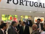 BM Christian Schmidt Stand Portugal Promi Fruit Logistica Messe Berlin Berichterstatter