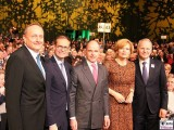 BM Kloeckner RegBM Mueller, Eroeffnung Gruene Woche CityCube Berlin Messe Funkturm Berichterstattung