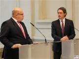 BM Peter Altmaier BM Andreas Scheuer Pressekonferenz BMWi BMVI Wirtschaftsministerium Berlin Scharnhorststr Invalidenstr Berichterstattung TrendJam