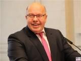 BM Peter Altmaier Gesicht Lachen PK im BMWi BMVI Wirtschaftsministerium Berlin Scharnhorststr Invalidenstr Berichterstattung TrendJam