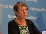 Barbara Hendricks Gesicht Portrait Kopf Diesel Gipfel SPD , BMVI Berlin Invalidenstrasse Berichterstatter