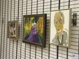 Bernhard Heisig Maler Gemaelde Depot Der Fensteroeffner Allee Selbstbildnis Oel auf Leinwand Leihgabe Potsdam Museum Sammlung Schreck Kunst