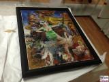 Bernhard Heisig Maler Gemaelde Traeume eines Küchenmaedchens Dreigroschenoper SeeräuberJenny 2003 Oel auf Leinwand Leihgabe Potsdam Museum Sammlung Schreck Kunst