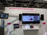 Bildschirme Krankenhaus Patientenunterhaltung systeme conhIT 2015 Berlin