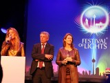 Birgit Zander Dr. Richard Meng Barbara Knoflach Festival of Lights 2013 Potsdamer Platz Berlin Laser Show