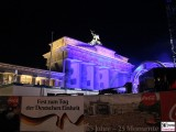 Brandenburger Tor Buehne ELO Fest zum Tag der deutschen Einheit Platz des 18 Maerz Coca Cola