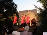 Buehne Flamenco Schlosspark Sanssouci Schloessernacht Beleuchtung Illumination Potsdam Schlosspark