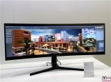 C49J890 LED Monitor 32-9 SAMSUNG 49 Zoll IFA 3840 x 1080 Pixel ganze Breite gfu Berlin Berichterstatter