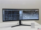 C49J890 LED Monitor 32-9 SAMSUNG 49 Zoll IFA 3840 x 1080 Pixel zwei Fenster gfu Berlin Berichterstatter