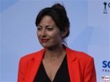 Carolina Vera Gesicht face Kopf Produzentenfest Produzentenallianz Regen Kongresshalle Hutschachtel WestBerlin Berichterstatter
