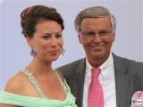 Caroline Bosbach, Wolfgang Bosbach Gesicht face Kopf Produzentenfest Sommerparty Produzentenallianz Summerparty Kongresshalle WestBerlin Berichterstatter
