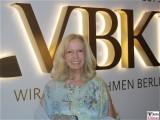 Catherine von Fuerstenberg Dussmann Gesicht Kopf face VBKI Ball der Wirtschaft Hotel Intercontinental Berlin