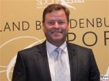 Christian Görke Gesicht face Kopf Sport Gala Finanzminister Brandenburg Potsdam Metropolishalle Berichterstatter