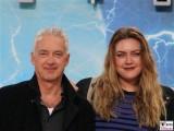 Christoph M. Ohrt, Lilly Ohrt Gesicht Promi face Terminator Genisys Arnold Schwarzenegger Premiere Sony Center Berlin