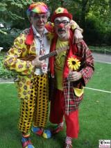 Clowns Belgien Schloss Bellevue Buergerfest Schlosspark Berlin Bundespraesident Berichterstatter