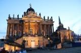 Communs am Neuen Palais Abenddämmerung Park Sanssouci XV Potsdamer Schloessernacht Potsdam