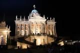 Communs am Neuen Palais nachts Park Sanssouci XV Potsdamer Schloessernacht Potsdam