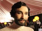 Conchita Wurst, Thomas Neuwirth Gesicht Promi face Kopf SemperOper Ball Theaterplatz Dresden Berichterstatter (1)