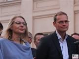 Cornelia Yzer, Michael Mueller Gesicht Promi regierender Buergermeister Berlin VBKI Kronprinzenpalais Unter den Linden