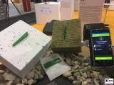 Dachscanner HDX3 Naessesensor RFID Smartphone Handy bautec Messe Berlin Fachmesse Funkturm Bau Gebaeude Ausruestung Berichterstatter