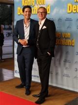 David Dietl Olli Dittrich Premiere Koenig von Deutschland Berlin Kino International Karl Marx Allee